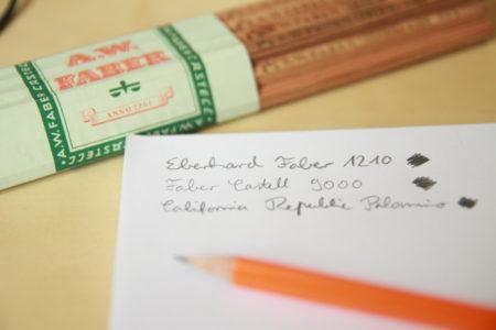Eberhard Faber 1210 - Faber Castell 9000 - California Republic Palomino