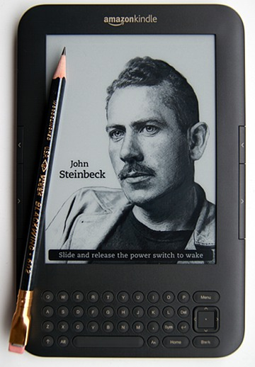 Steinbeck Blackwing Kindle
