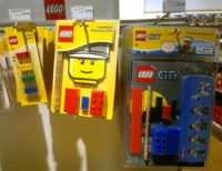 The non-Senator Lego erasers (£2 each)