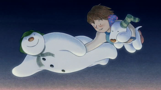 The Snowman and The Snowdog (© Lupus Films, Rare Day)