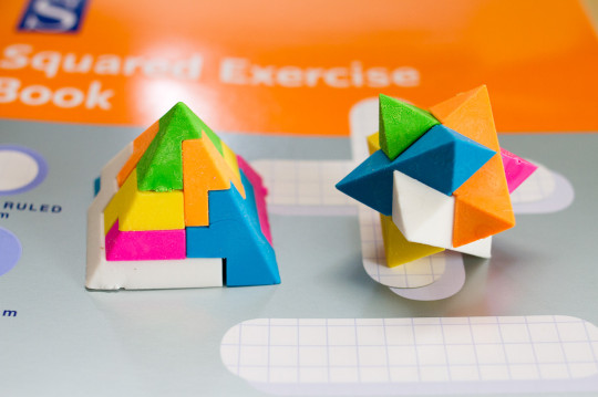 Morrisons Pick and Mix Puzzle Erasers