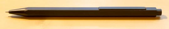 Muji black mechanical pencil