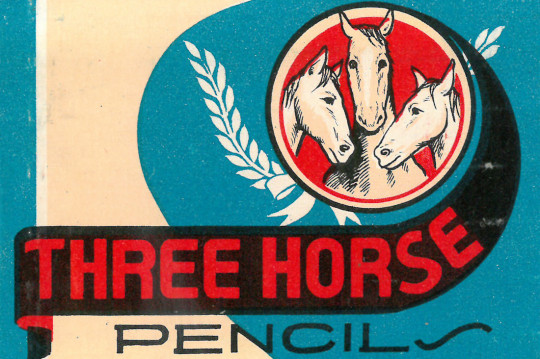 Three Horse Pencils
