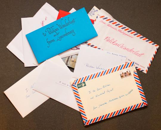 The twelve Wanderlust letters so far