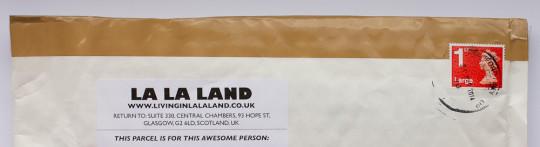 La La Land envelope