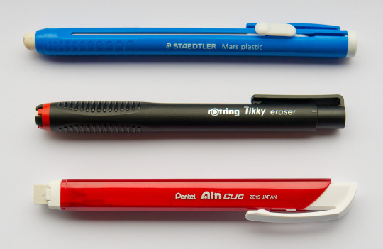 Pen Erasers Overview