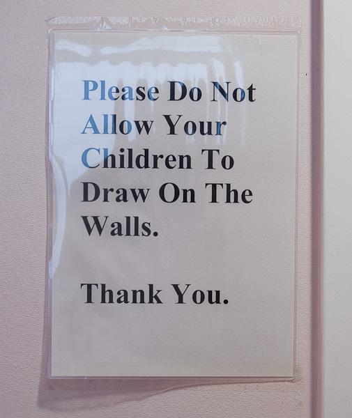 Pencil vandalism