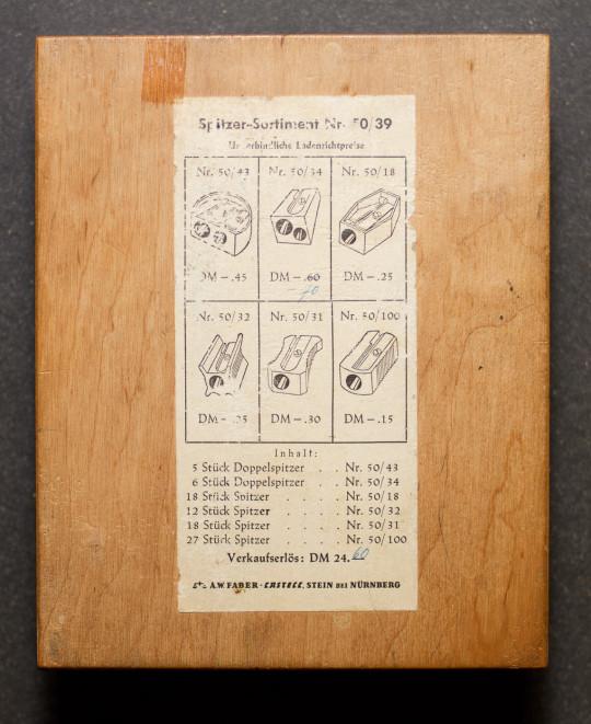 The price list.