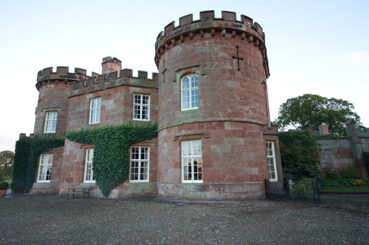 A dower house form the 1820s, between Weston-under-Redcastle and Hodnet