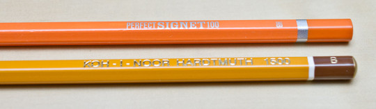 Two Czech pencils