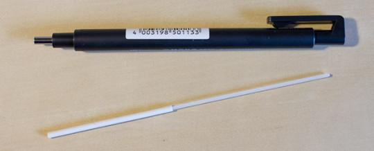 Mono Zero eraser removed - 2.3 mm round tip version