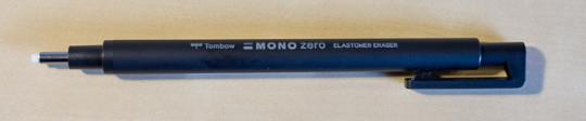 Mono Zero (black version, front)