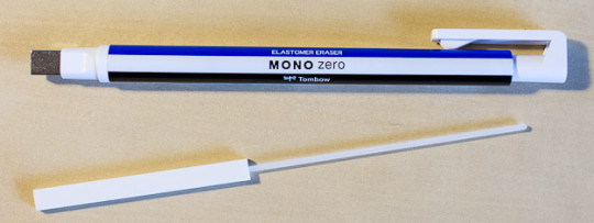 Mono Zero eraser removed - 2.5mm * 5 mm version