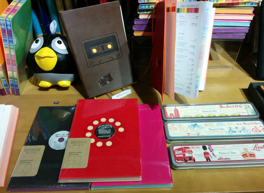 Notebooks in Réel Mall.