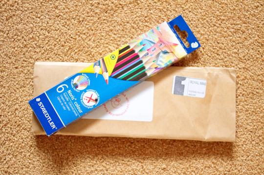 The Noris colour pencils have arrived