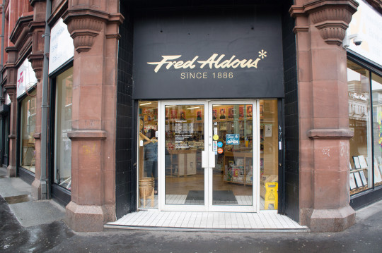 Fred Aldous entrance