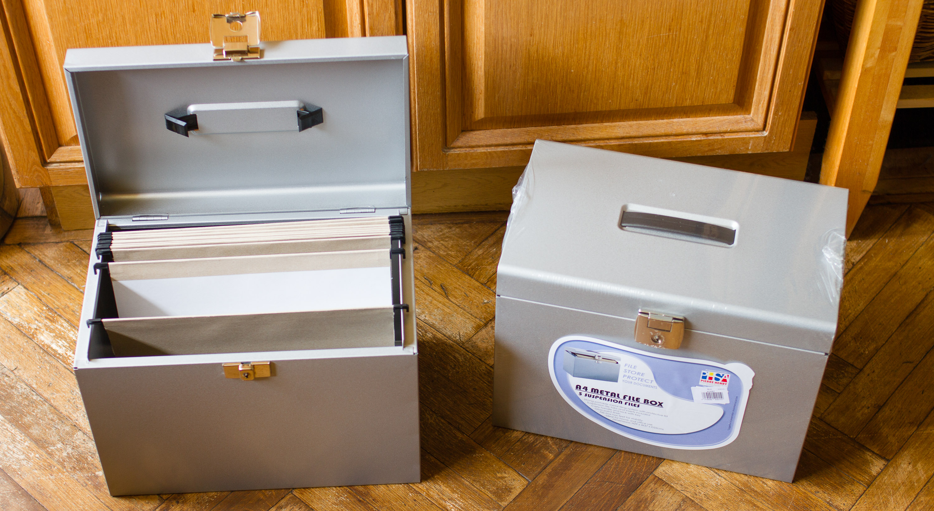 Pierre Henry File Box A4  5 Suspension Files
