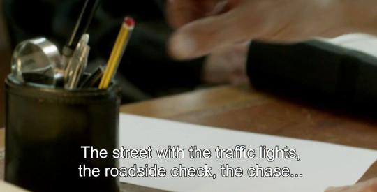 Juge Roban's pencil