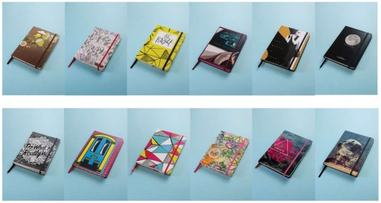 Some sample Book Block notebooks (Image © Book Block)