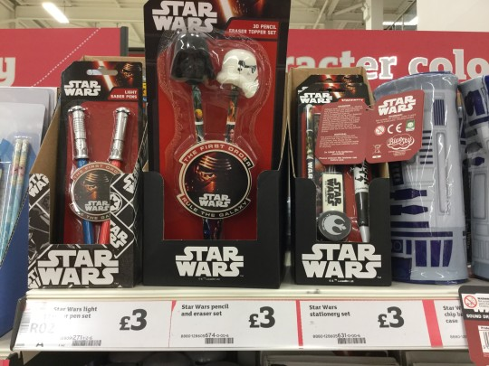 Star Wars stationery