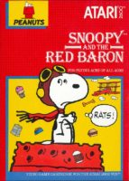 Cover of the Atari VCS 2600 Snoopy cartridge