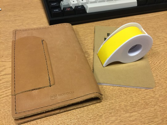 3M Label Roll, Field Notes and Rustico
