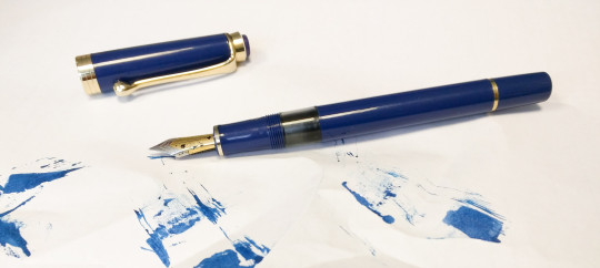 A leaking Indus fountain pen from Fountain Pen Revolution