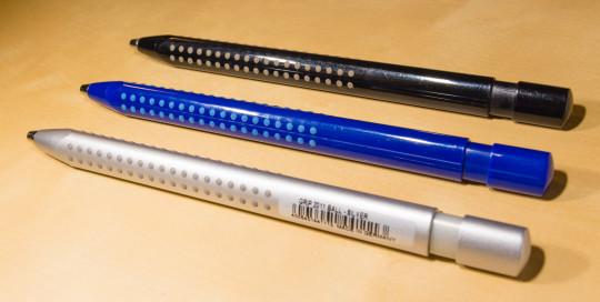 Faber-Castell Grip 2011 ballpoint pen and gel rollerball