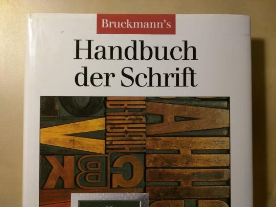 Bruckmann's Handbuch der Schrift