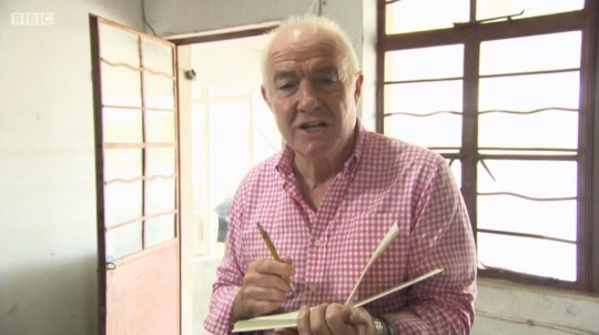 Rick Stein's pencil (Image © Denhams / BBC) - a Pentel P209