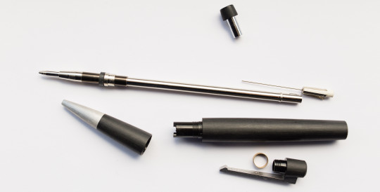The Lamy 2000 mechanical pencil