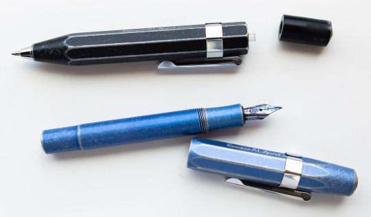Pencil and fountain pen