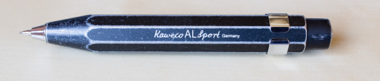 Kaweco AL Sport stonewashed pencil prototype