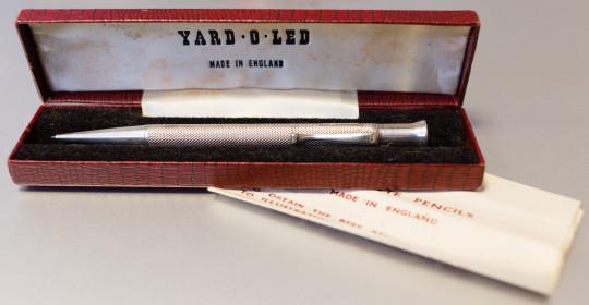 Edward Baker Mascot Yard-O-Led box
