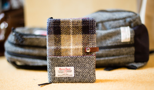 Esplanade London's Harris Tweed Hobonichi Techo cover