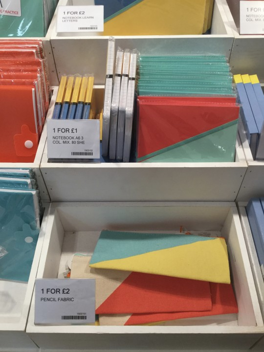 Some other stationery they were promoting