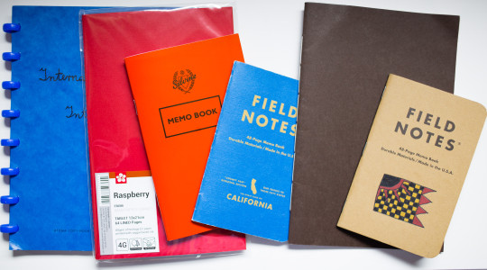Notebooks used for the comparison