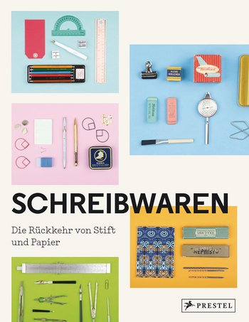 The German cover of the Stationery Fever book