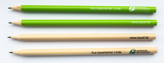 Bavarian Linden Pencils