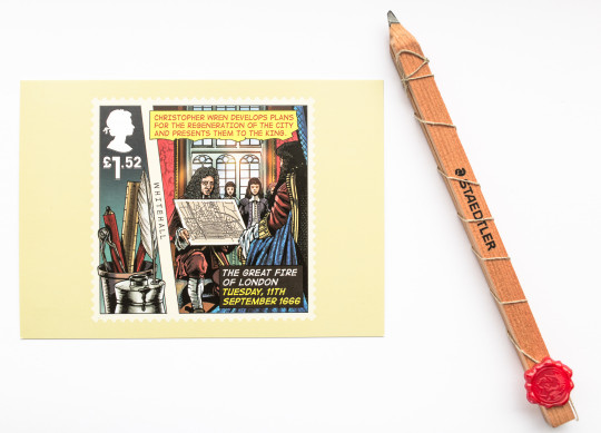 Royal Mail's pencil from 1666
