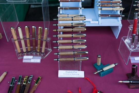 17th century English oak pens