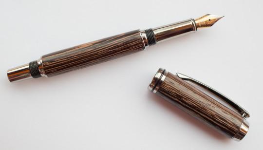 David Royle hand turned pen