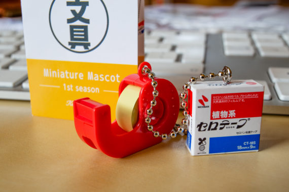 Nichiban's tape dispenser and refill