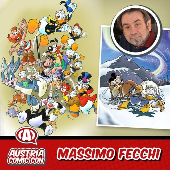 Massimo Fecchi's Comic Con Austria sign